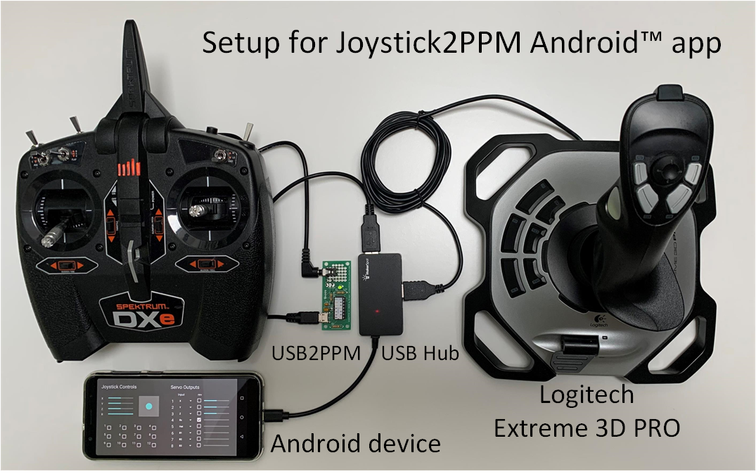 Setup Joystick2PPM RC