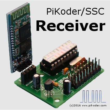 PiKoder Bluetooth receiver