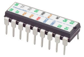 PiKoder/SSC: High precision Serial Servo Controller for eight channels