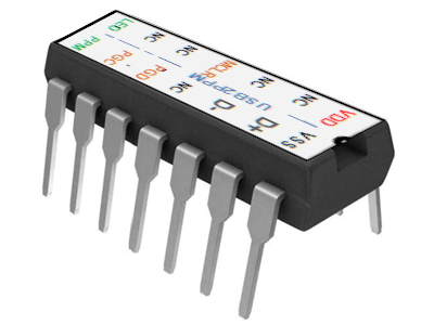 PiKoder/USB: USB2PPM Interface for eight channels